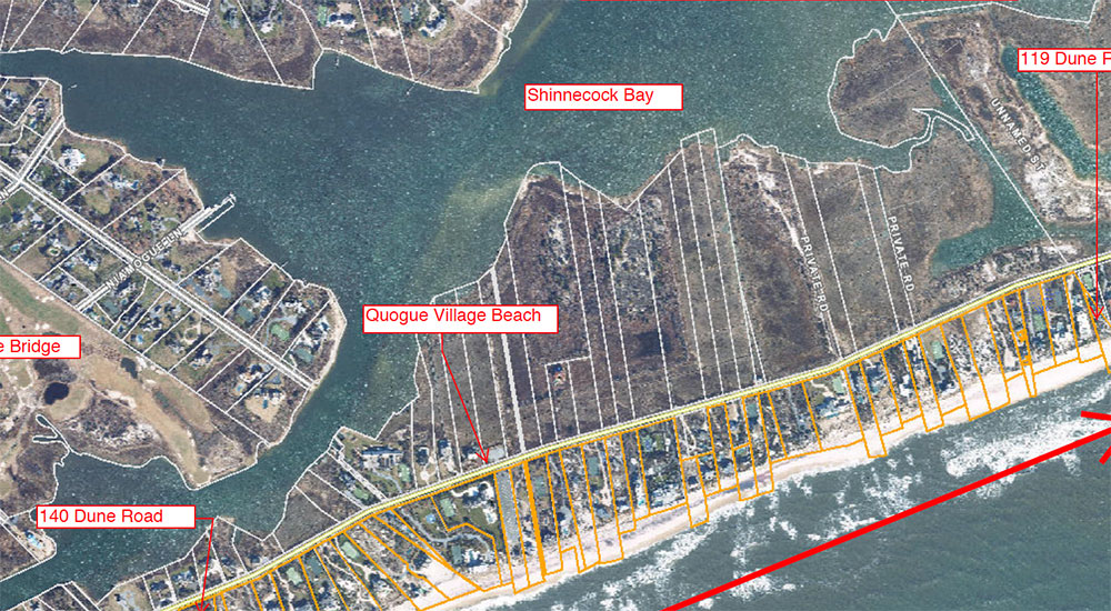 MAP OF PROPOSED BEACH EROSION CONTROL DISTRICT